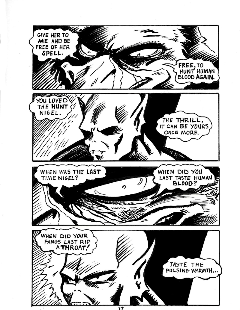 Nigel the Nosferatu Page 17