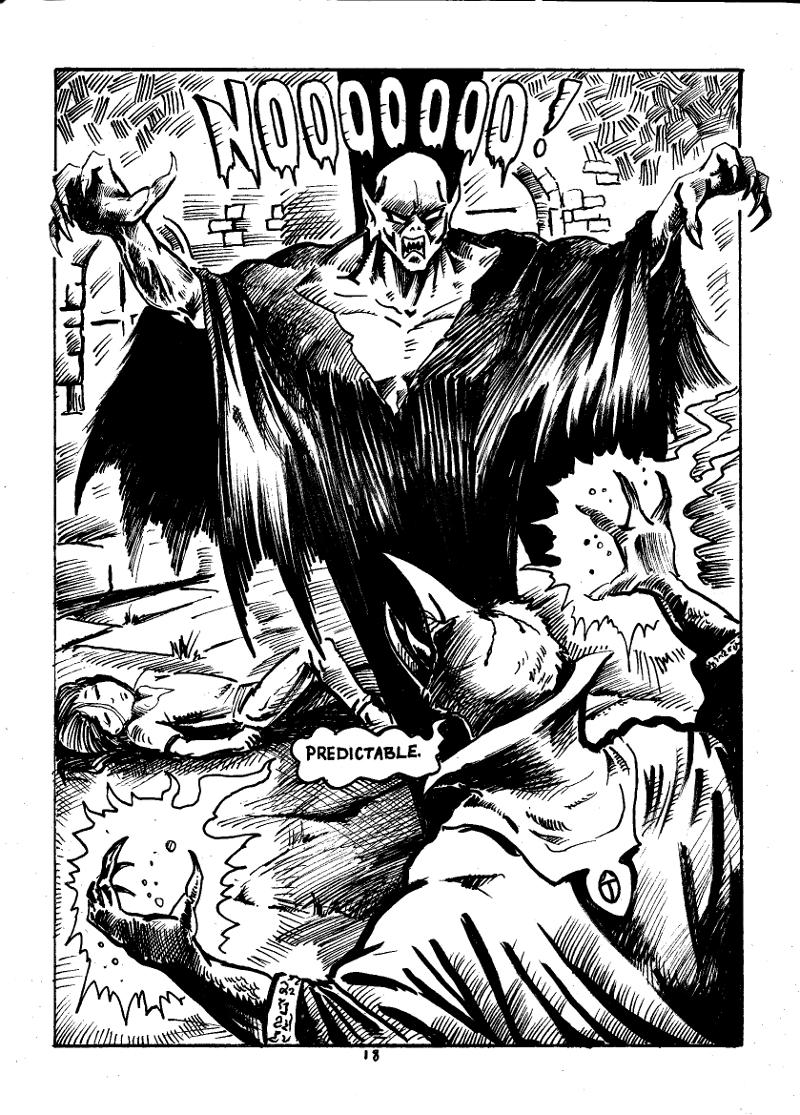 Nigel the Nosferatu Page 18