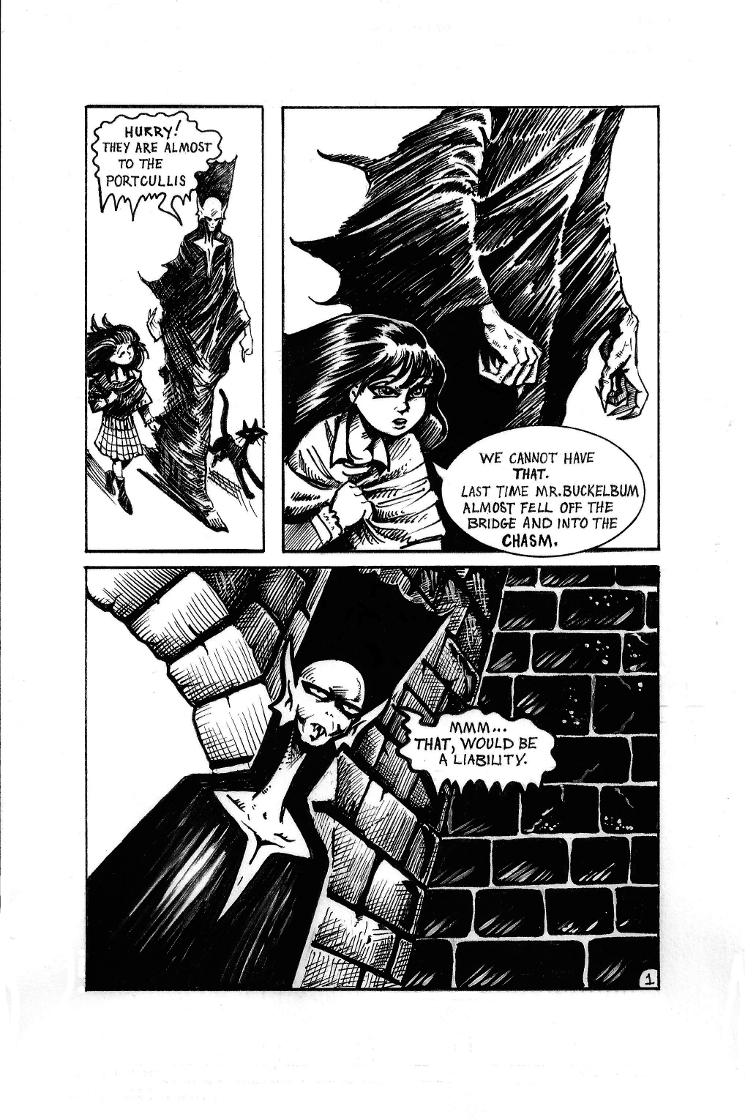 The Mob Part II Page 1