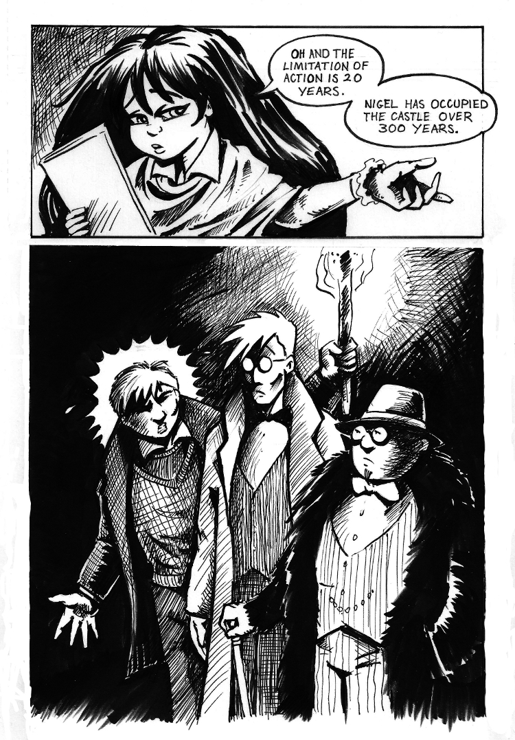 The Mob Part II Page 9
