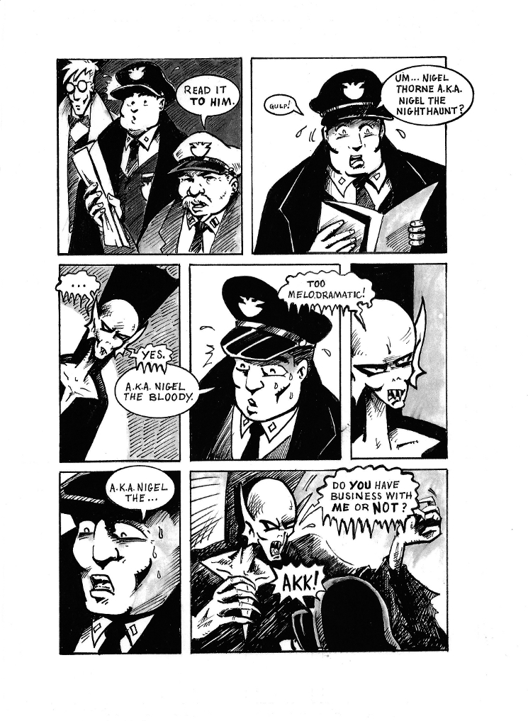 The Mob Part II Page 3