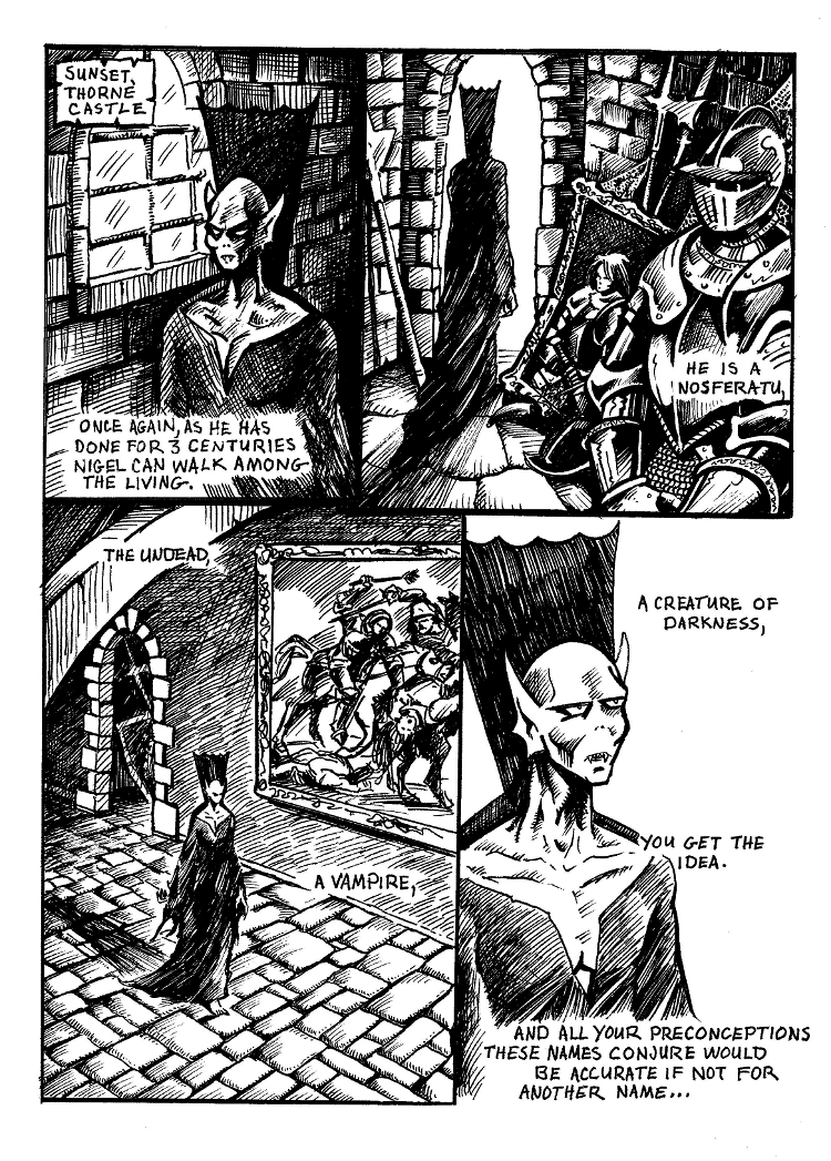 Nigel the Nosferatu Book II page 3