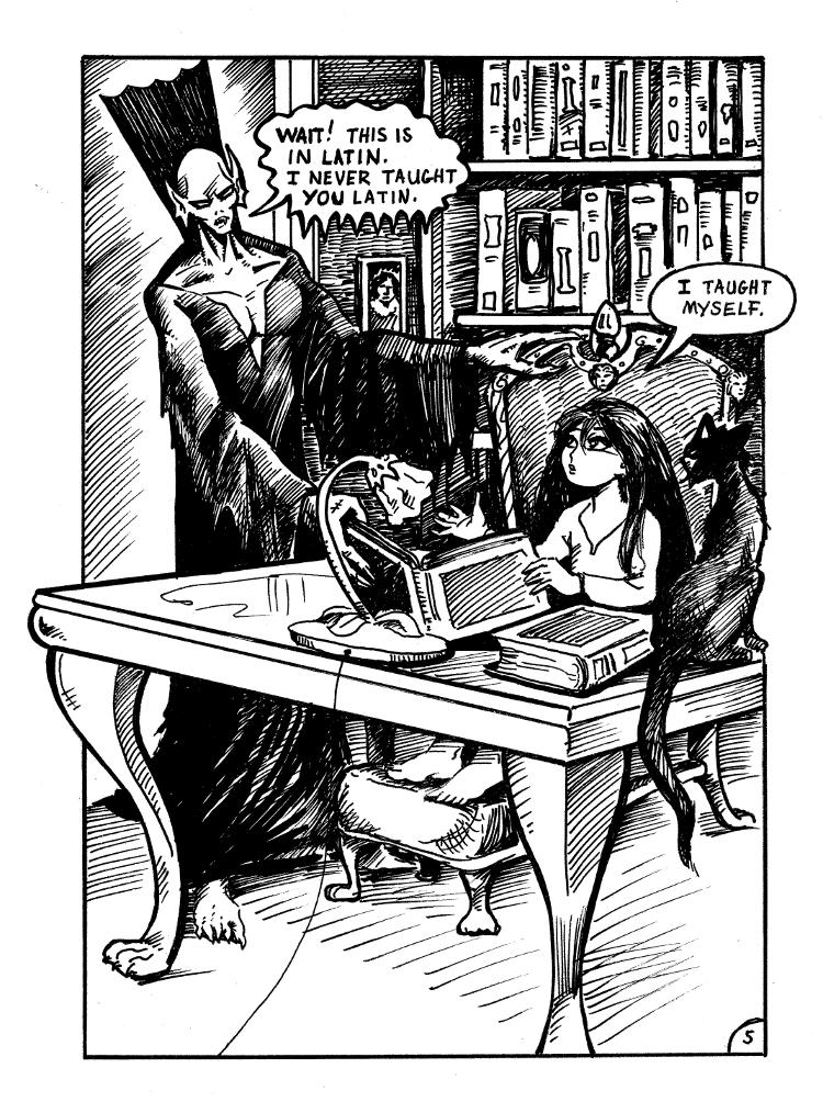 Nigel the Nosferatu Book II page 5