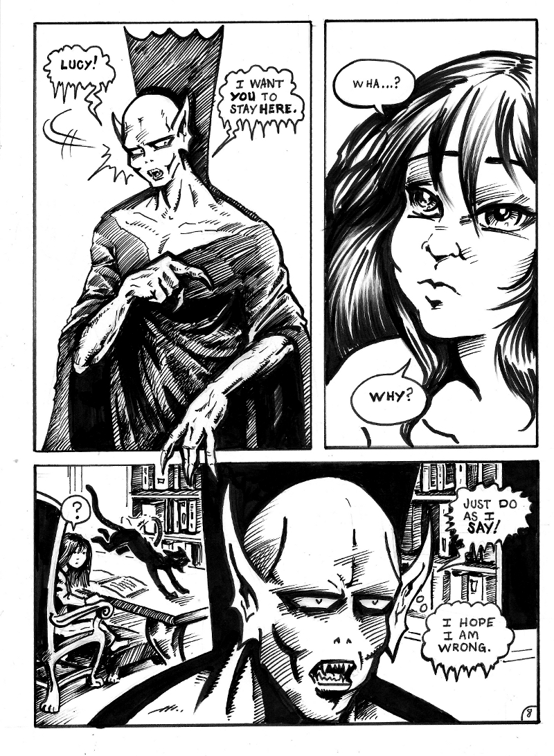 Nigel the Nosferatu Book II Page 8