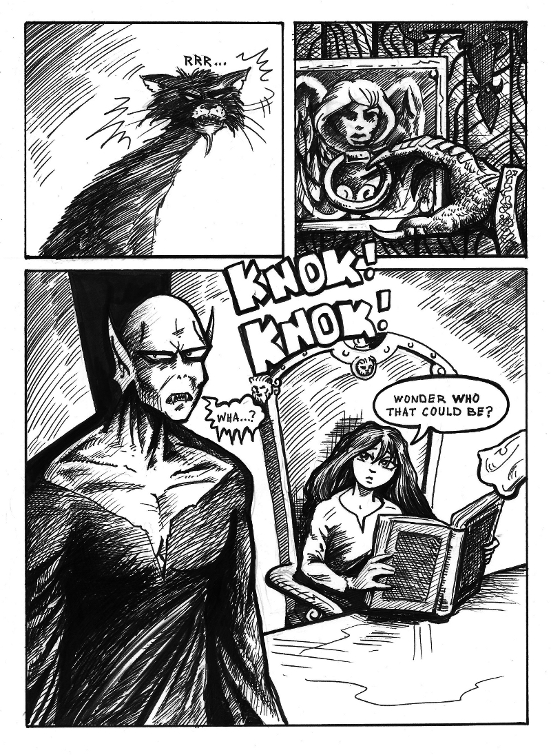 Nigel the Nosferatu Book II Page 7