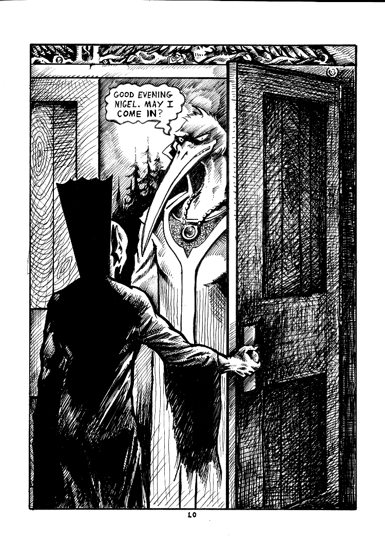 Nigel the Nosferatu Book II Page 10